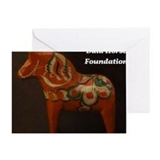 Dala Horse Foundation Greeting Card