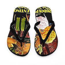 rudolph valentino Flip Flops