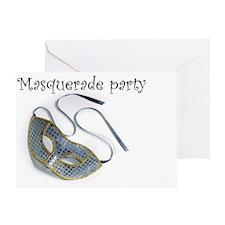 Masquerade Party Greeting Card