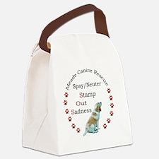 MCRF logo 1 Canvas Lunch Bag