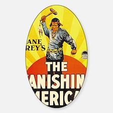 the vanishing american Decal