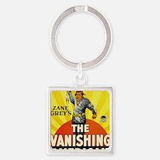 the vanishing american Square Keychain