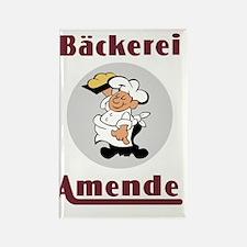 Backerei Amende (Amende Bakery) Rectangle Magnet