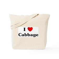 I love Cabbage Tote Bag