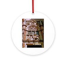 Venice Round Ornament