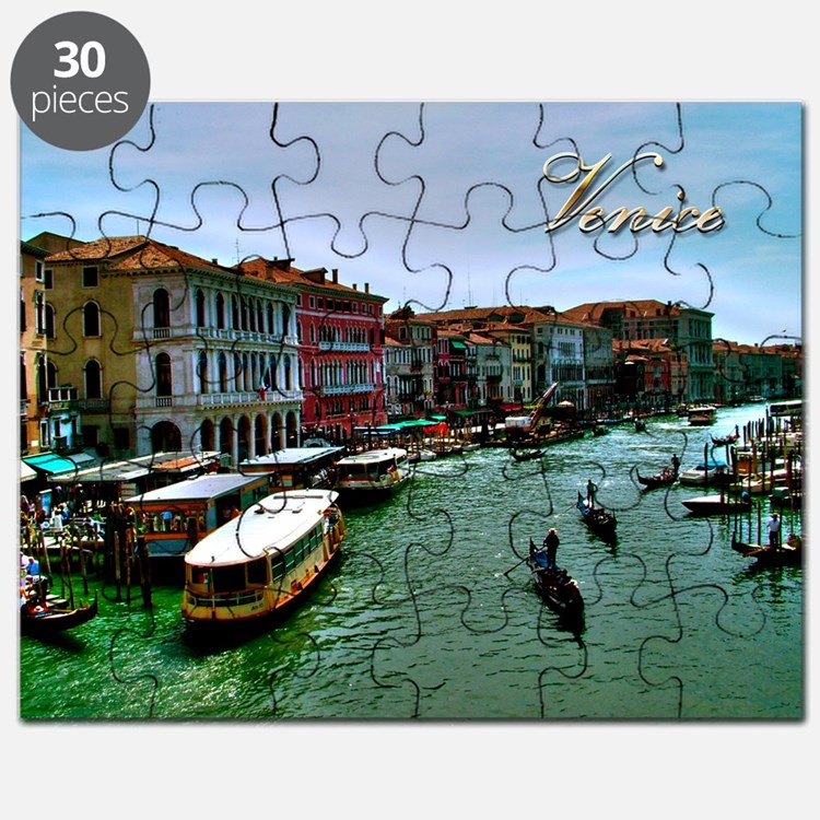 Venice - Grand Canal Puzzle
