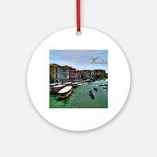 Venice - Grand Canal Round Ornament