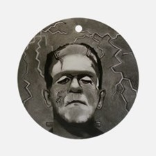 Frankenstein Round Ornament