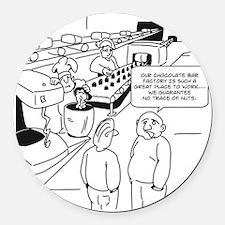 1063 Round Car Magnet