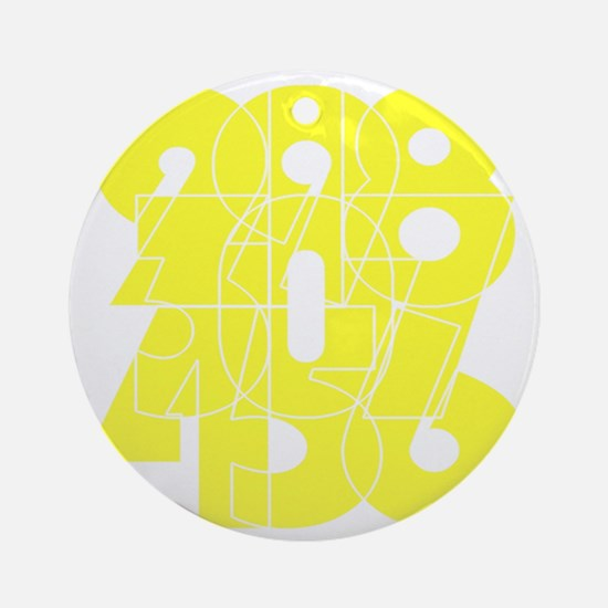 rsp_cnumber Round Ornament