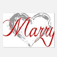 Marry Me Postcards (Package of 8)