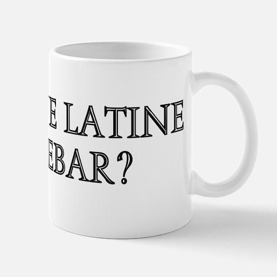 DENUONE LATINE LOQUEBAR Mug