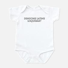 DENUONE LATINE LOQUEBAR Infant Bodysuit