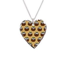 'Puddings' Necklace Heart Charm