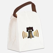 10x10 LBR Logo White Letters URL Canvas Lunch Bag
