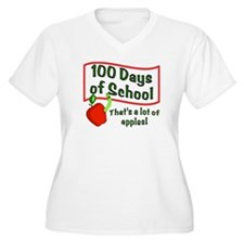 100th Day Apple T-Shirt