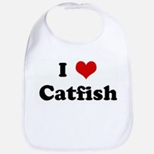I Love Catfish Bib