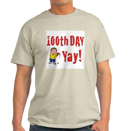 100th Day Painter Light T-Shirt
