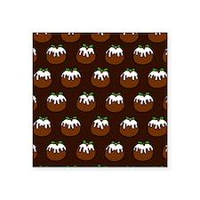 "'Puddings' Square Sticker 3"" x 3"""