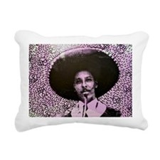 El Mariachi Lacho in The Rectangular Canvas Pillow