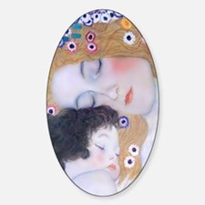 Galaxy Note 2 Cover Klimt Mother  C Decal