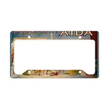 aida License Plate Holder