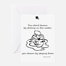 Quote by Edwin Louis Cole Greeting Card