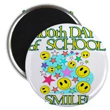 100th Day Smile Magnet