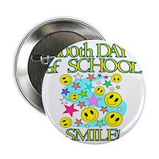 "100th Day Smile 2.25"" Button"