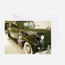 1939 Packard Car Greeting Card