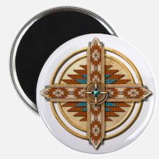 Native American Mandala 03 Magnet
