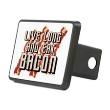 Live Long And Eat Bacon Hitch Cover