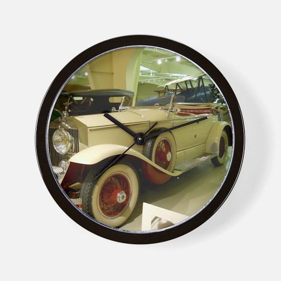 1929 Rolls Royce Wall Clock