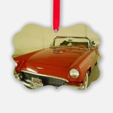Red 1957 Ford Thunderbird Ornament