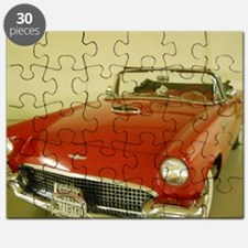 Red 1957 Ford Thunderbird Puzzle