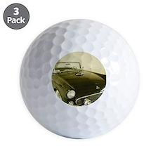 Black 1955 Ford Thunderbird Golf Ball