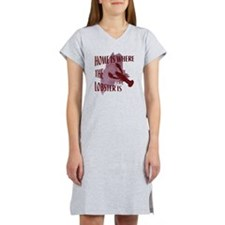 Home Is Where The Lobster Is Women's Nightshirt