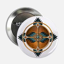 "Native American Mandala 04 2.25"" Button"