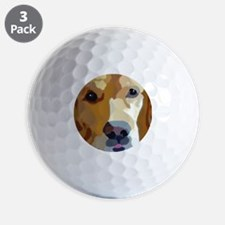 golden retriever Golf Ball
