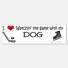 hockey Sticker (Bumper)