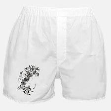 Hybrid I : Leather Boxer Shorts