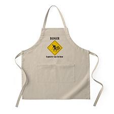 Danger Explosive Gas In Rear Apron
