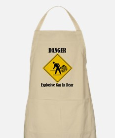 Danger Explosive Gas In Rear Apron