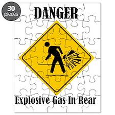 Danger Explosive Gas In Rear Puzzle