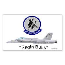 F/A-18 Hornet VFA-37 Ragin Bul Decal