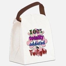Totally addicted! Canvas Lunch Bag