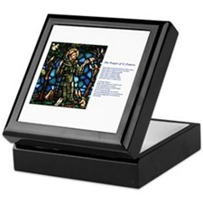 St Francis of Assisi Keepsake Box