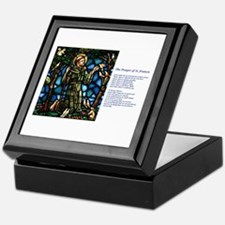 St Francis of Assisi Keepsake Box