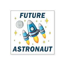 """Future Astronaut (Boy) Square Sticker 3"""" x 3"""""""