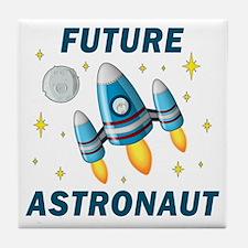 Future Astronaut (Boy) Tile Coaster